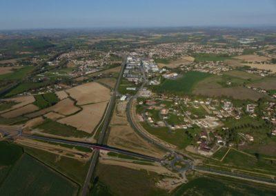 Boulevard Urbain et connexion vers l'avenue des Terres Noires