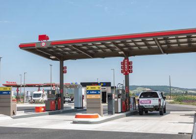 Station Total aire de services des Portes du Tarn