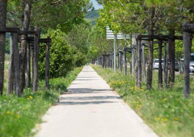 Axe piétons et vélos sur les Portes du Tarn